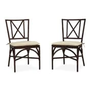 Home Styles Bimini Jim Dining Chair Pair with Cushion