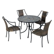 Home Styles Steel, Synthetic, Tile Delmar Table