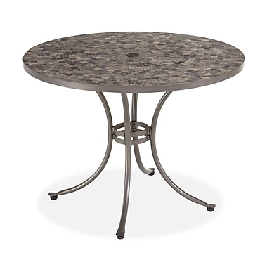Home Styles 29.5in. Marble Dining Table
