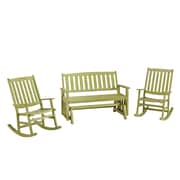 Home Styles 35.75 Shorea Wood Rocking Chairs