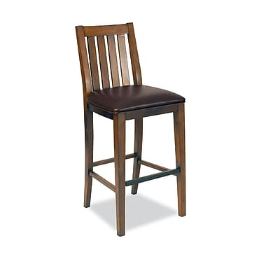 Home Styles Arts and Crafts Distressed Asian hardwoods Oak Bar Stool
