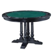 Home Styles 30 Asian Hardwood St Croix Game Table