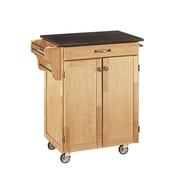 Home Styles 32.5 Solid Wood & Asian Hardwood Cuisine Cart