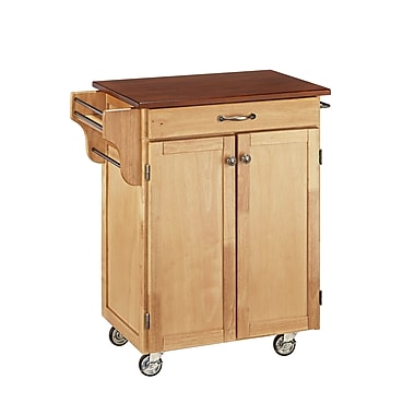 Home Styles Wood Cuisine Cart
