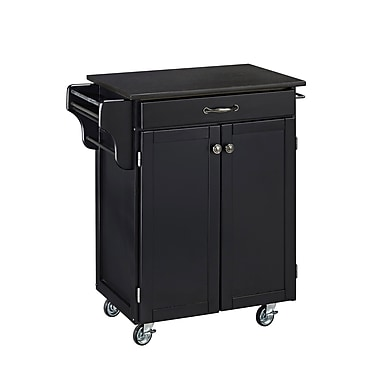 Home Styles Hardwood Create-a-Cart Cuisine Cart