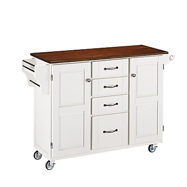 Home Styles Solid Hardwood Create-a-Cart