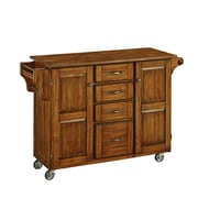 Home Styles 35.5 Solid Wood Create-a-Cart