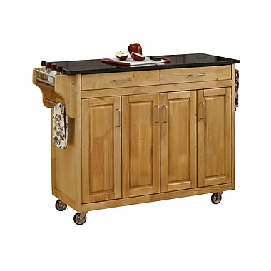 Home Styles Solid Wood Kitchen Cart
