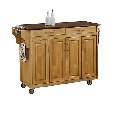 Home Styles Wood Kitchen Carts