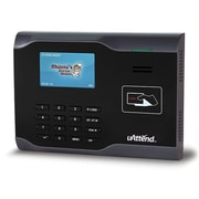 uAttend CB6000SC RFID Internet Ready Time Clock, Black