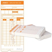 uPunch HNTC2100 Time Cards, 100/Pack