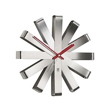 Umbra Ribbon Stainless Steel Clock
