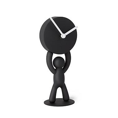 Umbra Buddy Desk Clock, Black