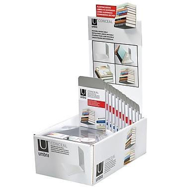 Umbra Conceal Shelf Small, Nickel, 2/Pack
