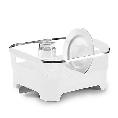 Umbra Basin Dish Rack, White