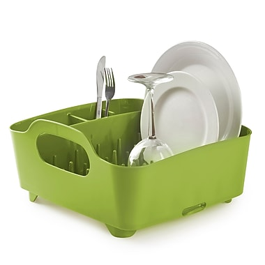 Umbra Tub Dish Rack, Avocado