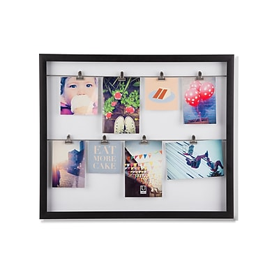Umbra Clipline Photo Display, Black