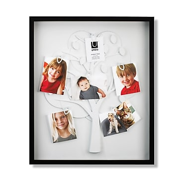 Umbra Family Tree Shadowbox Frame, Black