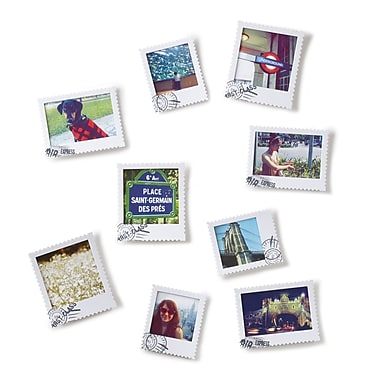 Umbra Postal Frame, Set of 9, White