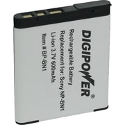 DigiPower® BP-BN1A Li-Ion Rechargeable Replacement Battery For Sony® NP-BN1 Digital Camera