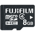 Fujifilm 8GB MicroSDHC™ (Micro Secure Digital High Capacity) Class 4 Flash Memory Card