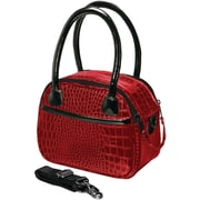 Fujifilm Faux Croc Bowler Bag For Fuji S, SL & HS Series Cameras, Red