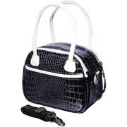 Fujifilm Faux Croc Bowler Bag For Fuji S, SL & HS Series Cameras, Blue