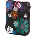 Fujifilm Camera Slip Case For Fuji A, J, T & XP Series Cameras, Black Flower Power