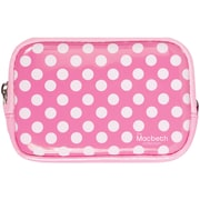 Macbeth® Camera Case, Tiny Dot Hot Pink