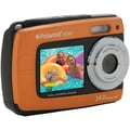 Polaroid IF045 14.1MP Waterproof Dual Screen Digital Camera, Orange