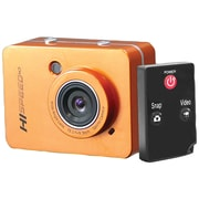 "Pyle® Sport PSCHD60 12 MP Full HD Action Camera With 2.4"" Touchscreen, Orange"