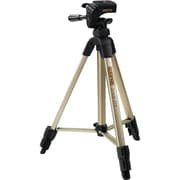 "Sunpak® 2001UT 49"" Floor Standing Video/Photo Tripod, Champagne"