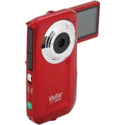 Vivitar® 426HD Digital Video Recorder, 4.6 x 2.4 x 1, Red