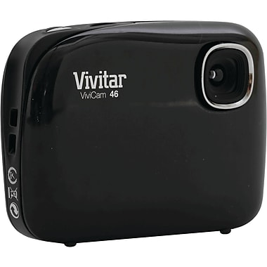 Vivitar® ViviCam 46 4.1MP Digital Camera, Black