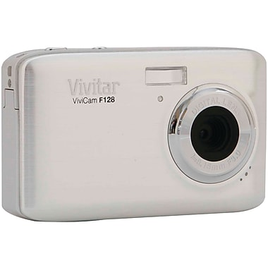 Vivitar® ViviCam F128 14.1MP Digital Camera, Silver