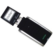 Vivitar® Secure Digital (SD) Memory Card Reader, White