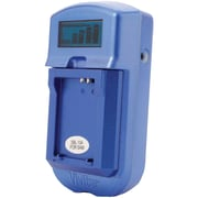 Vivitar® VIV-SC-3100-S LCD Battery Charger For Sony® Batteries, Blue