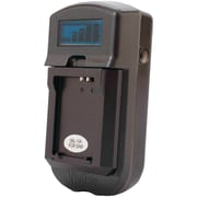 Vivitar® VIV-SC-3100-S LCD Battery Charger For Sony® Batteries, Black
