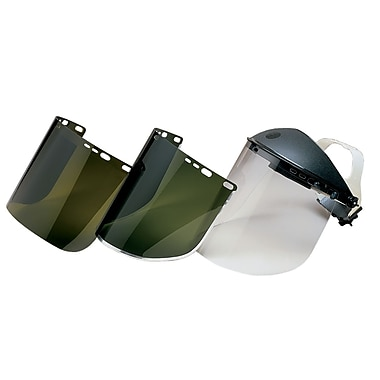 Jackson Safety® F30 9in. x 15.5in. Bounded Acetate Faceshield, Clear