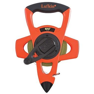 Cooper Hand Tools Crescent® Lufkin® Steel 3-To-1 Rewind Engineer's Tape, 100', Yellow Nyclad