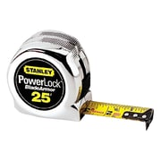 STANLEY® Powerlock® Blade Armor™ Coated Tape Rule, 30', Yellow