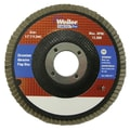 Weiler® 31315 Vortec Pro® 4 1/2in. Abrasive Flap Discs, Angled, 60Z Grit