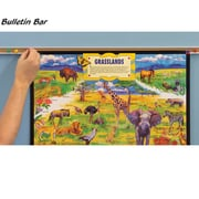 Best-Rite Bulletin Bars; 48''