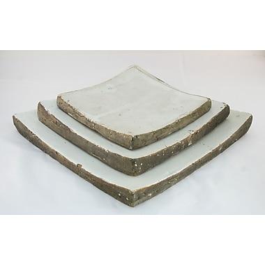 Zentique Inc. Square Plate; Large