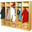 A+ Child Supply 47.75'' Coat Locker
