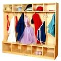 A+ Child Supply 47.5'' Coat Locker