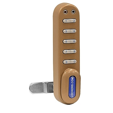 Salsbury Industries Electronic Lock for Designer Wood Locker; Gold