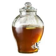 Style Setter Sanford 1.6 Gallon Beverage Dispenser; Clear
