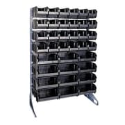 Quantum Conductive Single Sided Steel Rail Rack; 12 Rails