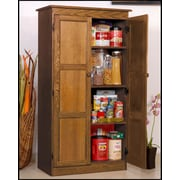 Concepts in Wood 30'' Multi-Use Storage Cabinet; Dry Oak